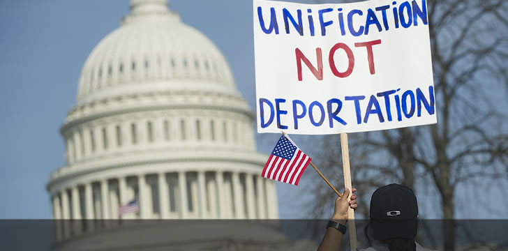 National Wages Declined As Immigration Population Increased in US