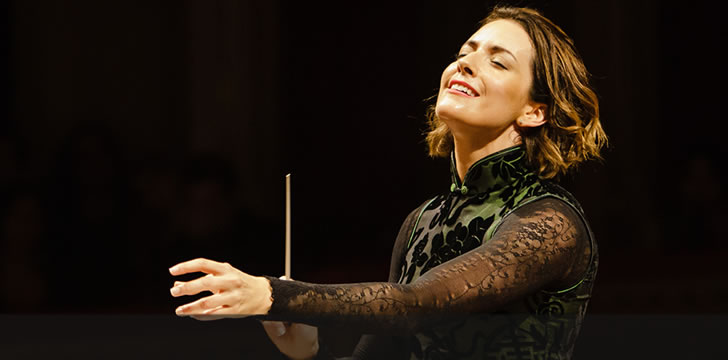 Mexican Conductor Alondra de la Parra Makes History