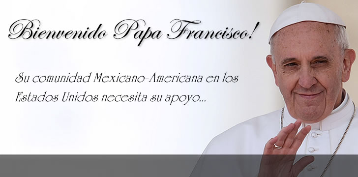 Pope Francis Is Bringing His Message To The U.S.A.