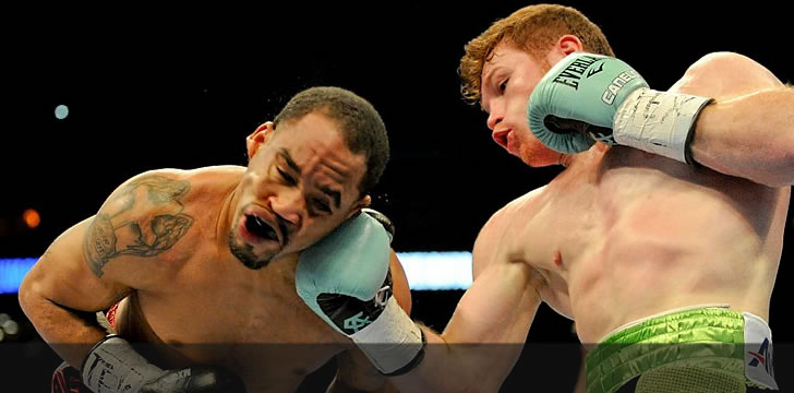 Canelo Alvarez Delivers Knockout Blow To James Kirkland In Round 3