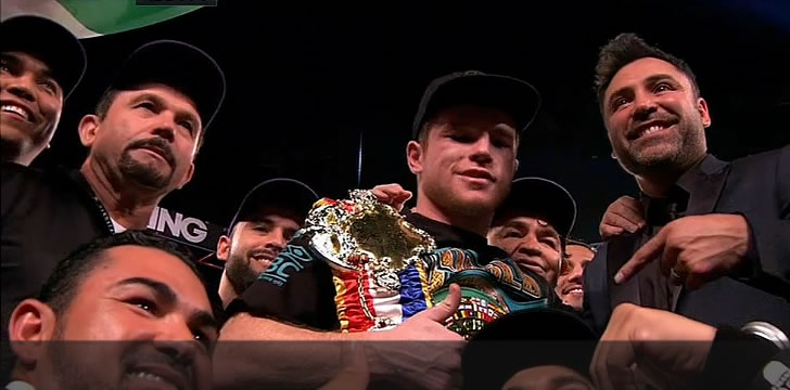 Canelo Alvarez defeats Miguel Cotto by unanimous decision