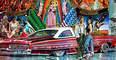 Fans Mourn 'Teen Angels' Chicano Culture Artist David Holland