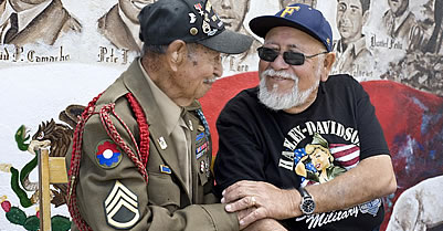Santa Ana Mural Sheds Light On Mexican American Veterans