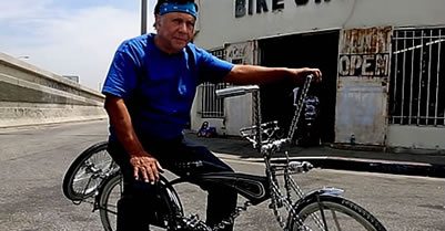 The 'godfather of lowrider bikes' has been building his creations for over 50 years
