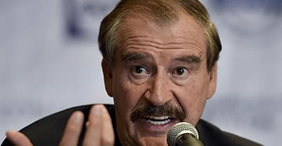 Vicente Fox: 'I really apologize' for Trump's Mexico visit