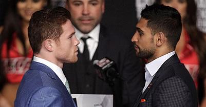 As Khan bout nears, Canelo Alvarez questions credentials of Golovkin, maybe his next foe
