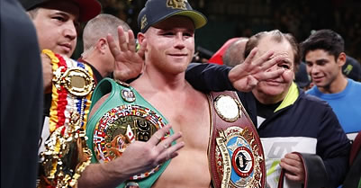 Canelo Alvarez knocks out Sergey Kovalev in 11th round to win belt in fourth division