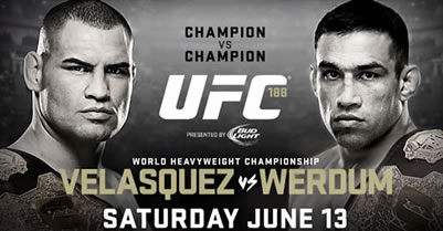 Countdown to UFC 188 'Champion vs Champion' Cain Velasquez vs Fabricio Werdum