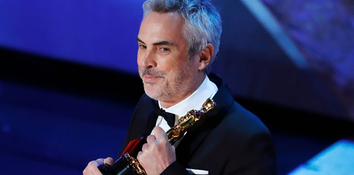 Alfonso Cuarón Wins Best Director Oscar For 'Roma'