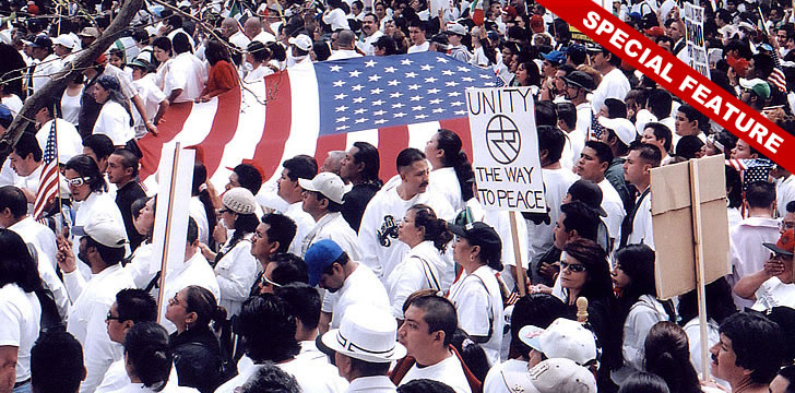 La Gran Marcha: 10 Yrs Since Largest Protest in U.S.A.