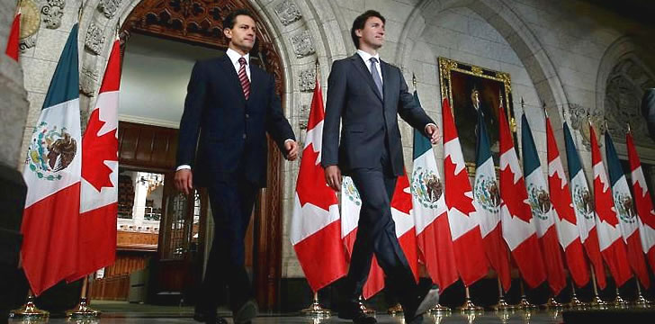 Canada, Mexico move to improve ties as U.S. election looms
