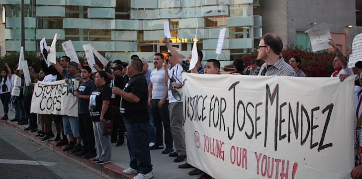 Boyle Heights demands justice for Chicano teen killed by LAPD